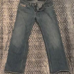 Men's Diesel button-fly jeans 34x30